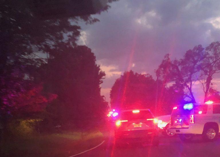 Multi-alarm fire doused on Pennington-Titusville Road