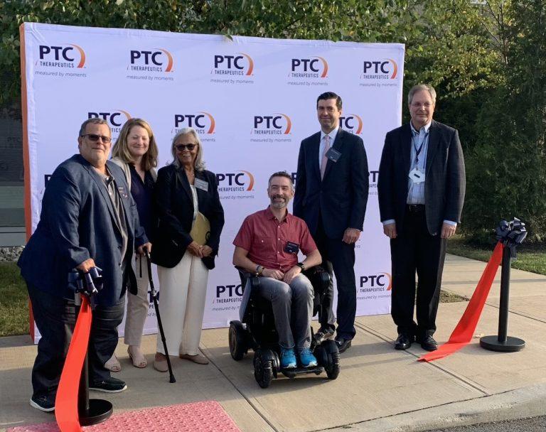 PTC Therapeutics cuts ribbon on former BMS site