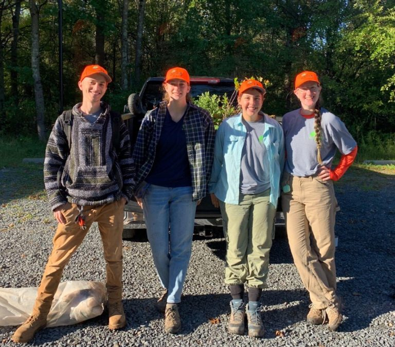 Budding Ecologists plant 1,000 trees in the Sourlands